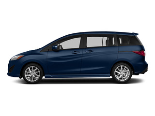 Deep Crystal Blue 2015 Mazda Mazda5 Pictures Mazda5 Wagon 5D Sport I4 photos side view