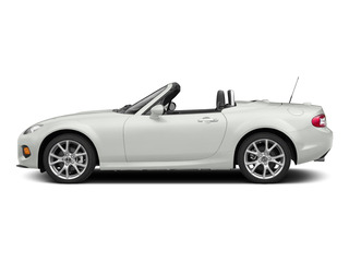 Crystal White Pearl 2015 Mazda MX-5 Miata Pictures MX-5 Miata Convertible 2D Club I4 photos side view