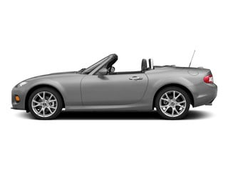 Liquid Silver Metallic 2015 Mazda MX-5 Miata Pictures MX-5 Miata Convertible 2D Club I4 photos side view