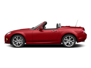 True Red 2015 Mazda MX-5 Miata Pictures MX-5 Miata Convertible 2D Club I4 photos side view