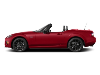 Soul Red 2015 Mazda MX-5 Miata Pictures MX-5 Miata Hardtop 2D Anniversary I4 photos side view