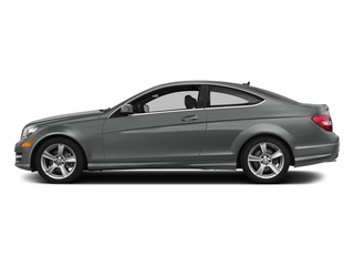 Palladium Silver Metallic 2015 Mercedes-Benz C-Class Pictures C-Class Coupe 2D C250 I4 Turbo photos side view