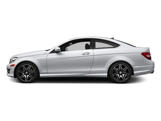Polar White 2015 Mercedes-Benz C-Class Pictures C-Class Coupe 2D C350 V6 photos side view
