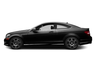 Magnetite Black Metallic 2015 Mercedes-Benz C-Class Pictures C-Class Coupe 2D C350 V6 photos side view