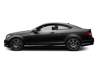 Obsidian Black Metallic 2015 Mercedes-Benz C-Class Pictures C-Class Coupe 2D C350 V6 photos side view