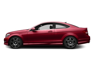 Mars Red 2015 Mercedes-Benz C-Class Pictures C-Class Coupe 2D C350 V6 photos side view