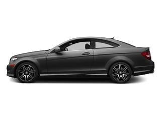 Steel Gray Metallic 2015 Mercedes-Benz C-Class Pictures C-Class Coupe 2D C350 V6 photos side view