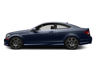 Lunar Blue Metallic 2015 Mercedes-Benz C-Class Pictures C-Class Coupe 2D C350 V6 photos side view
