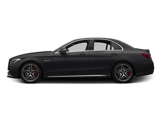 Black 2015 Mercedes-Benz C-Class Pictures C-Class Sedan 4D C63 AMG S V8 Turbo photos side view