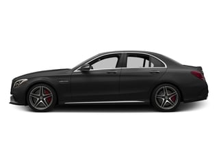 Obsidian Black Metallic 2015 Mercedes-Benz C-Class Pictures C-Class Sedan 4D C63 AMG S V8 Turbo photos side view