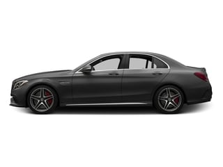 Steel Gray Metallic 2015 Mercedes-Benz C-Class Pictures C-Class Sedan 4D C63 AMG V8 Turbo photos side view