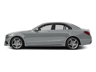 Iridium Silver Metallic 2015 Mercedes-Benz C-Class Pictures C-Class Sedan 4D C400 AWD V6 Turbo photos side view