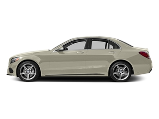 Diamond White Metallic 2015 Mercedes-Benz C-Class Pictures C-Class Sedan 4D C400 AWD V6 Turbo photos side view