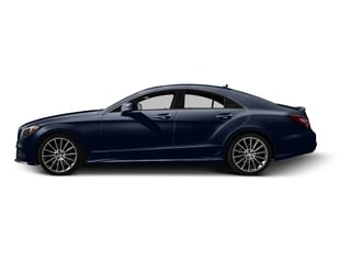Lunar Blue Metallic 2015 Mercedes-Benz CLS-Class Pictures CLS-Class Sedan 4D CLS400 AWD V6 Turbo photos side view