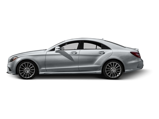 Diamond Silver Metallic 2015 Mercedes-Benz CLS-Class Pictures CLS-Class Sedan 4D CLS400 AWD V6 Turbo photos side view