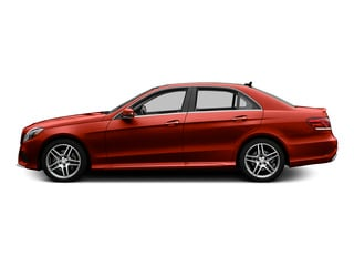 designo Cardinal Red Metallic 2015 Mercedes-Benz E-Class Pictures E-Class Sedan 4D E400 V6 Turbo photos side view