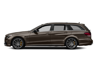 Dolomite Brown Metallic 2015 Mercedes-Benz E-Class Pictures E-Class Wagon 4D E63 AMG S AWD V8 Turbo photos side view