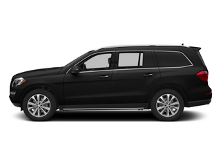 Obsidian Black Metallic 2015 Mercedes-Benz GL-Class Pictures GL-Class Utility 4D GL450 4WD V6 photos side view