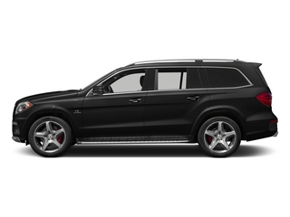 Obsidian Black Metallic 2015 Mercedes-Benz GL-Class Pictures GL-Class Utility 4D GL63 AMG 4WD V8 photos side view