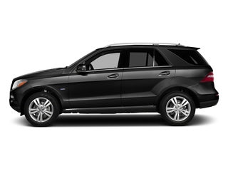 Obsidian Black Metallic 2015 Mercedes-Benz M-Class Pictures M-Class Utility 4D ML350 2WD V6 photos side view