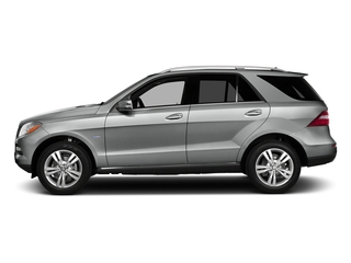 Palladium Silver Metallic 2015 Mercedes-Benz M-Class Pictures M-Class Utility 4D ML350 2WD V6 photos side view