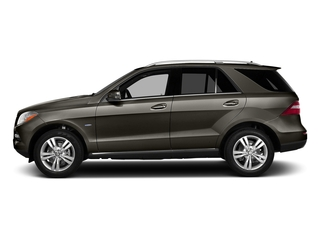Dakota Brown Metallic 2015 Mercedes-Benz M-Class Pictures M-Class Utility 4D ML350 2WD V6 photos side view