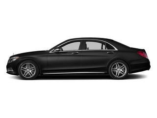 Magnetite Black Metallic 2015 Mercedes-Benz S-Class Pictures S-Class Sedan 4D S550 AWD V8 photos side view