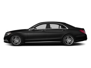 Obsidian Black Metallic 2015 Mercedes-Benz S-Class Pictures S-Class Sedan 4D S550 AWD V8 photos side view