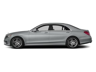 Iridium Silver Metallic 2015 Mercedes-Benz S-Class Pictures S-Class Sedan 4D S550 AWD V8 photos side view
