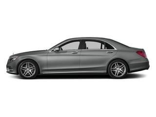 Palladium Silver Metallic 2015 Mercedes-Benz S-Class Pictures S-Class Sedan 4D S550 AWD V8 photos side view