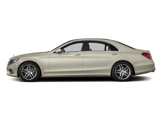 designo Diamond White 2015 Mercedes-Benz S-Class Pictures S-Class Sedan 4D S550 AWD V8 photos side view