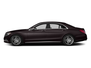 Ruby Black Metallic 2015 Mercedes-Benz S-Class Pictures S-Class Sedan 4D S550 AWD V8 photos side view