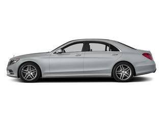 Diamond Silver Metallic 2015 Mercedes-Benz S-Class Pictures S-Class Sedan 4D S550 AWD V8 photos side view