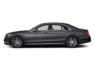 Anthracite Blue Metallic 2015 Mercedes-Benz S-Class Pictures S-Class Sedan 4D S550 AWD V8 photos side view