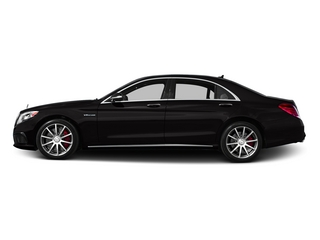 designo Mocha Black 2015 Mercedes-Benz S-Class Pictures S-Class Sedan 4D S63 AMG AWD V8 Turbo photos side view