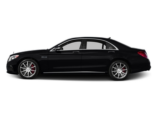 Black 2015 Mercedes-Benz S-Class Pictures S-Class Sedan 4D S63 AMG AWD V8 Turbo photos side view