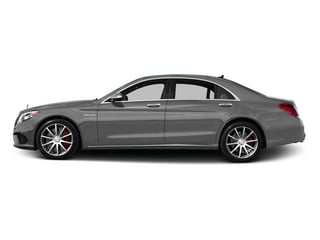designo Magno Alanite Gray (Matte Finish) 2015 Mercedes-Benz S-Class Pictures S-Class Sedan 4D S63 AMG AWD V8 Turbo photos side view
