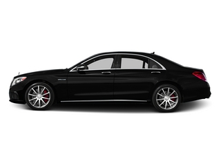 Magnetite Black Metallic 2015 Mercedes-Benz S-Class Pictures S-Class Sedan 4D S63 AMG AWD V8 Turbo photos side view