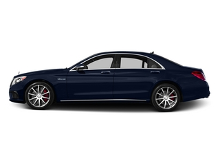 Lunar Blue Metallic 2015 Mercedes-Benz S-Class Pictures S-Class Sedan 4D S63 AMG AWD V8 Turbo photos side view