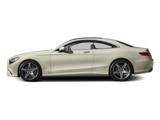 designo Diamond White 2015 Mercedes-Benz S-Class Pictures S-Class Coupe 2D S63 AMG AWD V8 Turbo photos side view