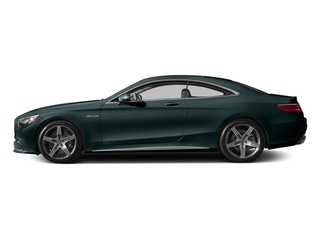 Emerald Green Metallic 2015 Mercedes-Benz S-Class Pictures S-Class Coupe 2D S63 AMG AWD V8 Turbo photos side view