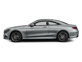 Iridium Silver Metallic 2015 Mercedes-Benz S-Class Pictures S-Class Coupe 2D S550 AWD V8 Turbo photos side view