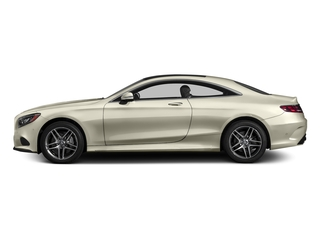 designo Diamond White 2015 Mercedes-Benz S-Class Pictures S-Class Coupe 2D S550 AWD V8 Turbo photos side view