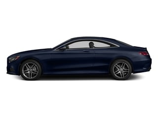 Lunar Blue Metallic 2015 Mercedes-Benz S-Class Pictures S-Class Coupe 2D S550 AWD V8 Turbo photos side view