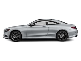 Diamond Silver Metallic 2015 Mercedes-Benz S-Class Pictures S-Class Coupe 2D S550 AWD V8 Turbo photos side view