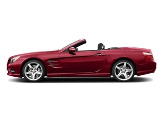 Mars Red 2015 Mercedes-Benz SL-Class Pictures SL-Class Roadster 2D SL550 V8 Turbo photos side view