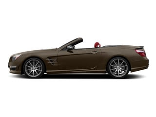 Dolomite Brown Metallic 2015 Mercedes-Benz SL-Class Pictures SL-Class Roadster 2D SL63 AMG V8 Turbo photos side view