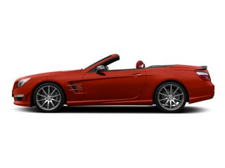 designo Cardinal Red Metallic 2015 Mercedes-Benz SL-Class Pictures SL-Class Roadster 2D SL63 AMG V8 Turbo photos side view