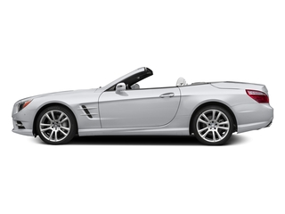 Polar White 2015 Mercedes-Benz SL-Class Pictures SL-Class Roadster 2D SL400 V6 Turbo photos side view