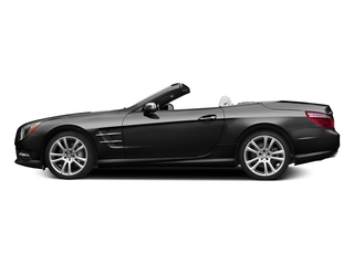 Obsidian Black Metallic 2015 Mercedes-Benz SL-Class Pictures SL-Class Roadster 2D SL400 V6 Turbo photos side view